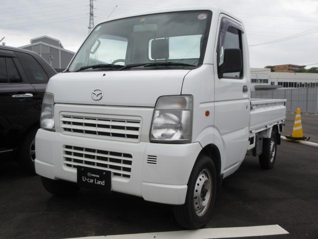 マツダ KCスペシャル 4WD 5速MT エアコン パワステ ラジオ 三方開