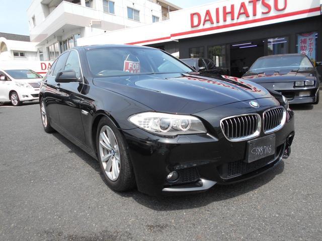 BMW 5シリーズ 528i Mスポーツパッケージ 黒革シート