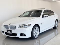 BMWアクティブハイブリッド5 Mスポーツ SR 黒革 ACC
