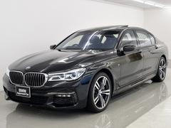 BMW750LiMスポーツ SR 黒革 リモートP リヤエンタメ