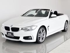 BMW435iカブリオレMスポ 黒革 アダプティブLED 19AW