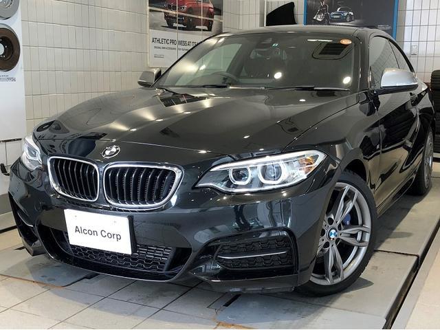 BMW M235iクーペ HDD純正ナビ パーキングサポートP
