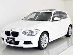 BMW116i Mスポーツ 電動サンルーフ HDDナビ 17AW