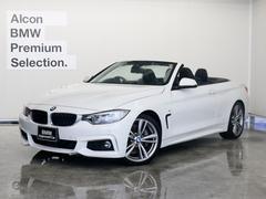 BMW435iカブリオレMスポーツ 黒革 HUD ACC 19AW