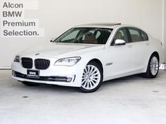 BMW740iエグゼクティブ後期 本革 SR HUD Pアシ