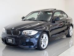 BMW135i後期 サンルーフ 黒革 7速DCT 純正HDDナビ