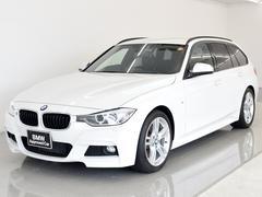 BMW328iツーリングMスポーツ 黒革 地デジ Dアシ 18AW