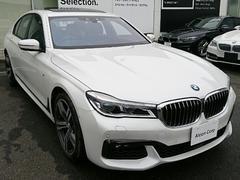 BMW740dxDriveMスポーツ SR 黒革 レーザーLED