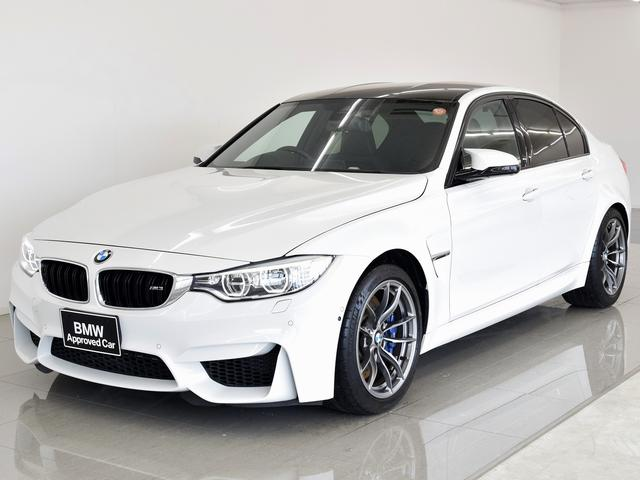 BMW M3黒革アダプティブMサス Pアシスト HK ワンオーナー