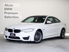 BMWM4クーペ 赤革 アダプティブMサス 6速MT 左ハンドル