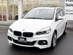 BMW218dxGTMスポ SR黒革セレクトAASPコンフォP