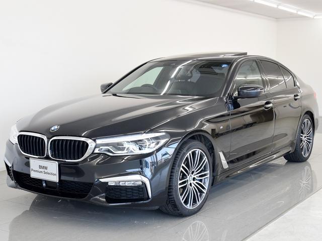 BMW 530iM サンルーフ 黒革 イノベP HK ワンオーナー