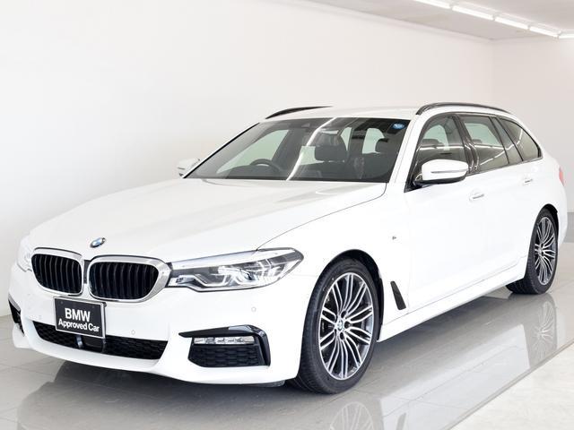 BMW 523dT Mスポ ACC トップビュー 19AW 弊社デモ