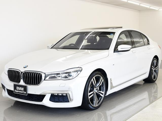BMW 740iMスポ SR 本革 レーンアシスト OP20AW