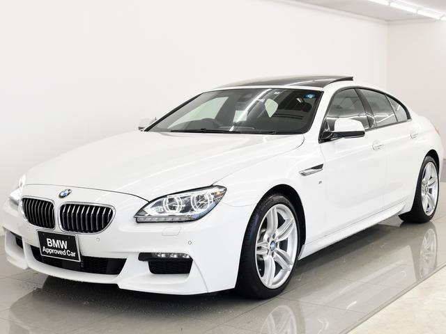 BMW 640iGC Mスポーツ サンルーフ 黒革 ACC 19AW