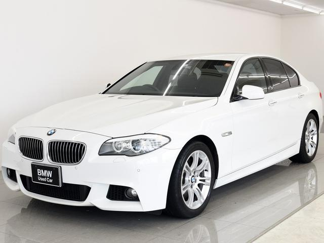 BMW 535i MスポーツP 黒革 Fシートヒーター クルコン