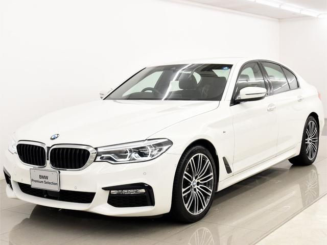 BMW 530i Mスポーツ 黒革 HUD 地デジ ACC 2年保証