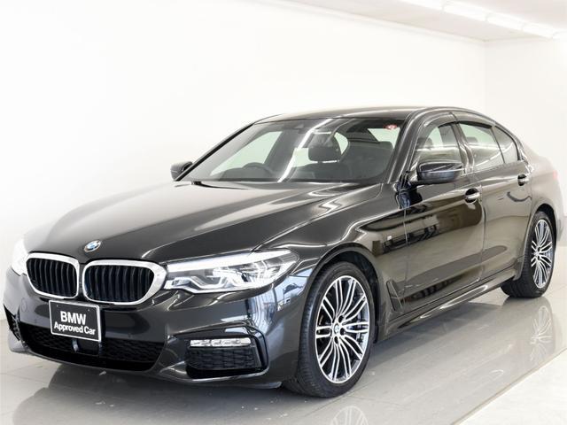 BMW 530iMスポ 黒革 イノベP リモートP HUD 1オーナ