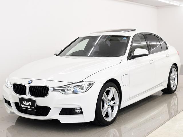 BMW 330e Mスポーツ 電動サンルーフ 黒革 ACC LED