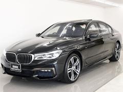 BMW740i Mスポ SR 本革 レーザーL リモートP HUD