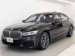 BMW740iMスポ後期 SR 黒革 レーザーライト 20AW