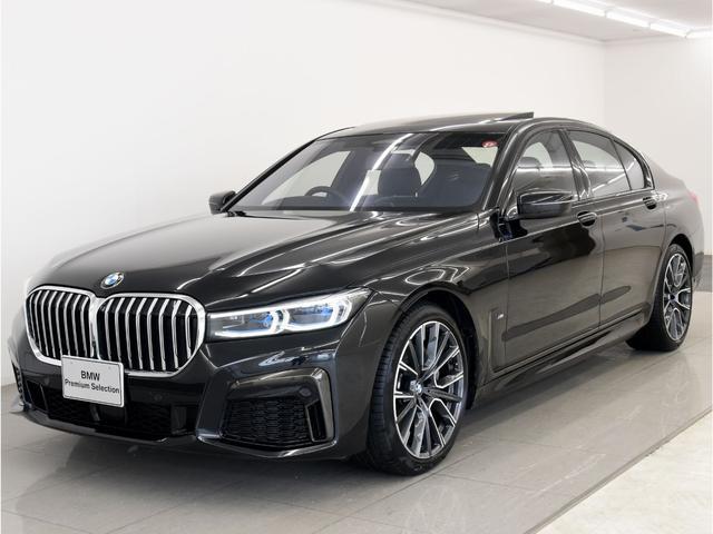 BMW 740iMスポ後期 SR 黒革 レーザーライト 20AW
