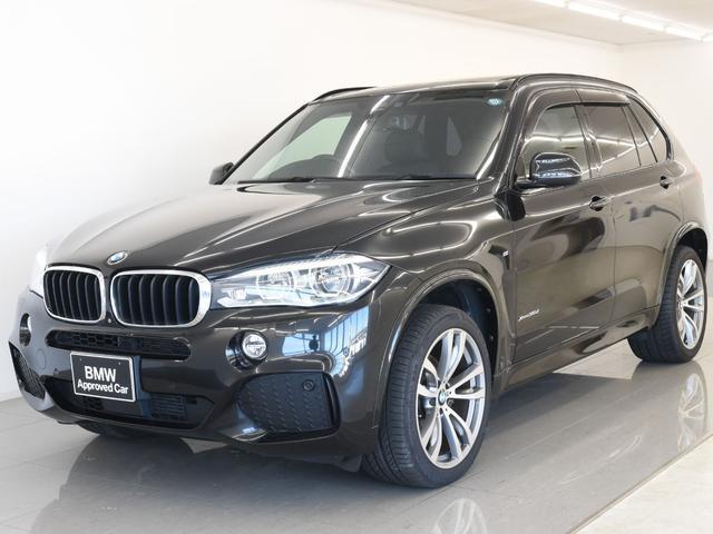 BMW X5 xDrive 35d Mスポーツ パノラマサンルーフ黒革 セレクトパッケージ アクティブクルーズコントロール トップビュー オプション20アロイホイール