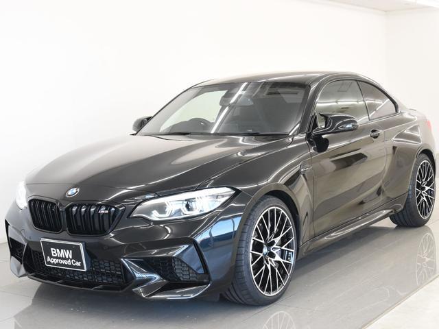 BMW コンペティション 後期 黒レザーシート シートヒーター LEDヘッドライト 純正19インチAW 純正HDDナビ リヤビューカメラ コンフォートアクセス ミラーETC 元レンタカー