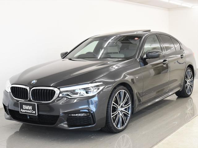 BMW 540i Mスポーツ サンルーフ 本革シート 4ゾーンAC フロントマッサージシート ハーマンカードン オプション20インチAW ディスプレイキー アクティブクルーズコントロール ドライビングアシスト