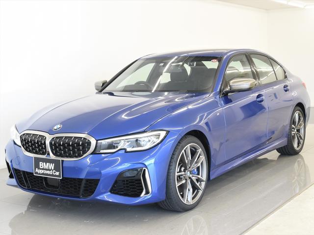 BMW M340i xDrive 電動サンルーフ 黒革 パーキングアシストプラス ヘッドアップディスプレイ レーザーライト HarmanKardon トップビュー アダプティブMサス 純正19インチアロイホイール
