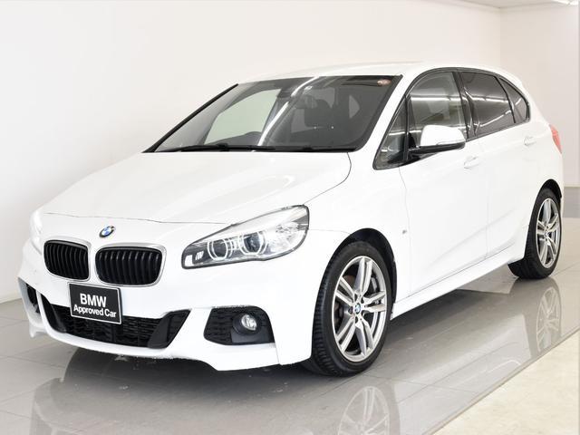 BMW 218iアクティブツアラー Mスポーツ コンフォートアクセス バックカメラ LEDヘッドライト オートトランク 純正18アロイホイール