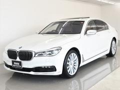 7シリーズ750i サンルーフ 本革 BMWレーザーライト リアエンタメ BMWタッチコマンド リモートパーキング ディスプレイキー Harman/Kardonスピーカー トップビュー ACC ヘッドアップ