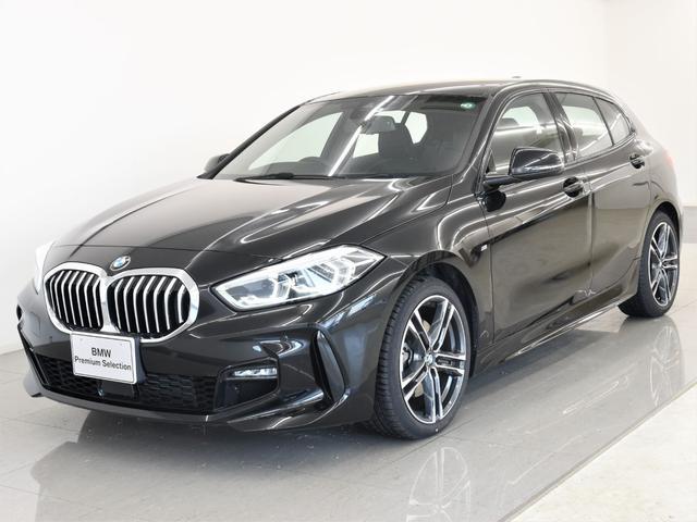 BMW 118d Mスポーツ BMWコックピット LEDヘッドライト センサテック&クロスコンビネーションシート イルミネーショントリム 純正18インチアロイホイール