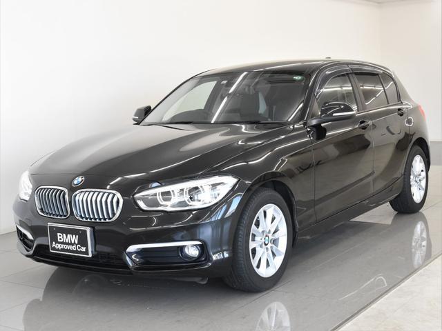 BMW 118i スタイル 後期 ハーフレザーシート パーキングサポートパッケージ バックカメラ ドライビングアシスト LEDヘッドライト 地デジチューナー ミラーETC ランフラットタイヤ 純正16インチアロイホイール