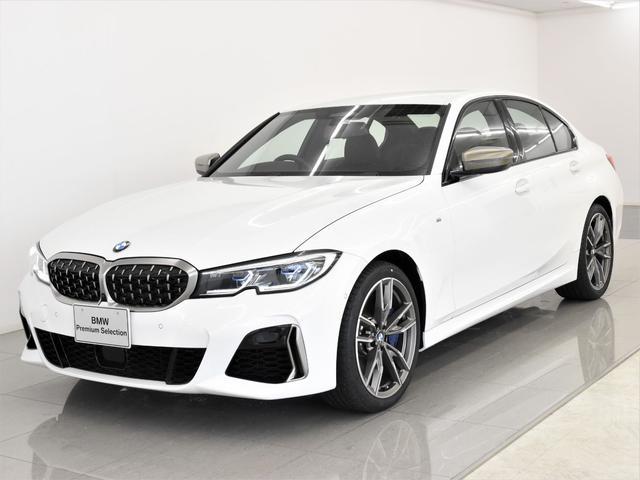 BMW M340i xDrive 黒革 パーキングアシストプラス Tビュー BMWレーザーライト アダプティブMサスペンション ヘッドアップディスプレイ 地デジ Harman/Kardonスピーカー ジェスチャーコントロール