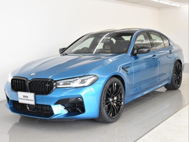 BMW コンペティション 後期 本革 カーボンセラミックブレーキ リヤエンターテイメント Bowers&Wilkins Mドライバーズパーッケージ レーザーライト ディスプレイキー 20インチアロイホイール