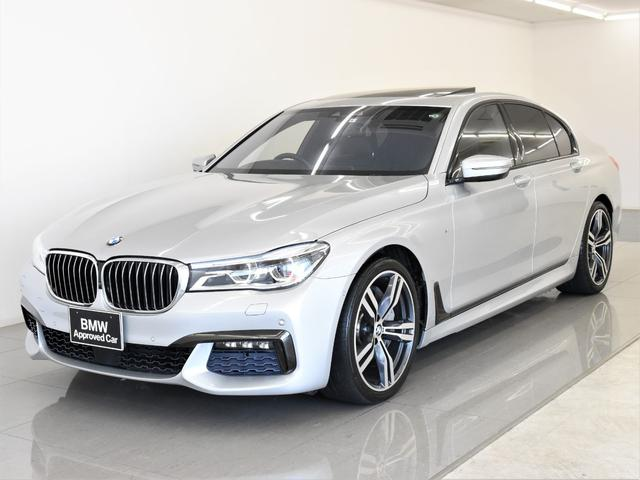 BMW 750i Mスポーツ サンルーフ 黒革 BMWレーザーライト ディスプレイキー ヘッドアップディスプレイ リモートコントロール Harman/Kardonスピーカー トップビュー アクティブクルーズコントロール