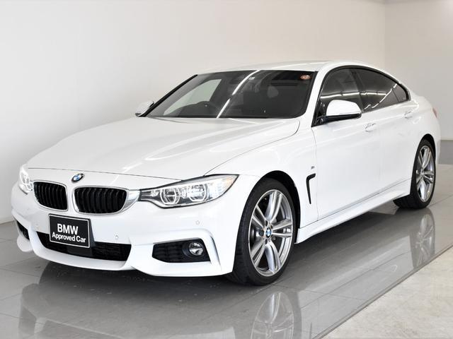 BMW 435iグランクーペ Mスポーツ 黒革 アクティブクルーズコントロール アダプティブLEDヘッドライト Hifiスピーカー ヘッドアップディスプレイ ドライビングアシスト フロントシートヒーター 純正19インチアロイホイール
