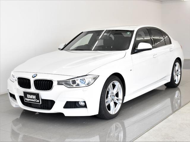 BMW 320i Mスポーツ アクティブクルーズコントロール ドライビングアシスト フロント電動シート ETCルームミラー バックカメラ ランフラットタイヤ 純正18インチアロイホイール 元レンタカー