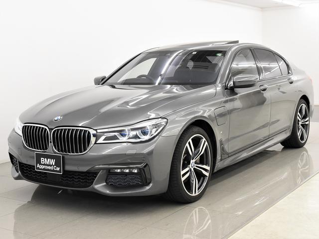 BMW 740eアイパフォーマンス Mスポーツ サンルーフ 黒革 フロントコンフォートシート ヘッドアップディスプレイ アクティブクルーズコントロール BMWレーザーライト BMWディスプレイキー トップビュー ハイビームアシスタント