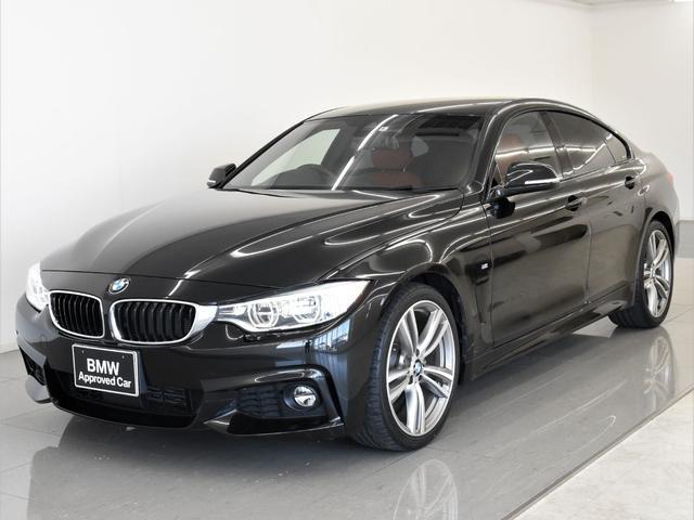 BMW 420iグランクーペ Mスポーツ 赤革 アダプティブLEDヘッドライト アクティブクルーズコントロール ドライビングアシスト シートヒーター オートトランク 純正19インチアロイホイール