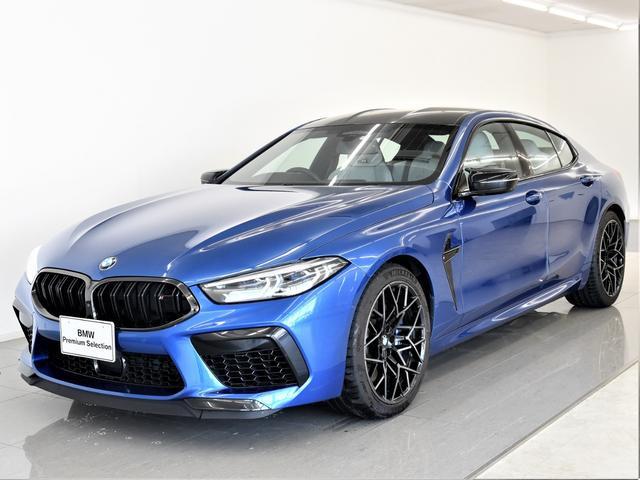 BMW M8グランクーペ コンペティション 本革 BMWレーザーライト Bowers&Wilkins  BMWディスプレイキー ハイビームアシスタント フルセグ F/Rシートヒーター ソフトクローズ 純正20インチアロイホイール