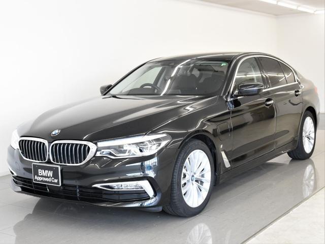 BMW 530eラグジュアリー アイパフォーマンス 黒革 コンフォートパッケージ ソフトクローズドア コンフォートシート アクティブクルーズコントロール フロント&リアシートヒーター ハイビームアシスタント トップビュー