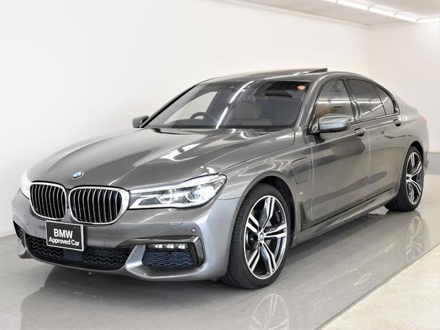 BMW 7シリーズ 740eアイパフォーマンス Mスポーツ サンルーフ 本革 ヘッドアップディスプレイ ディスプレイキー トップビュー レーザーライト アクティブクルーズコントロール オートトランク ベンチレーションシート オプション20AW