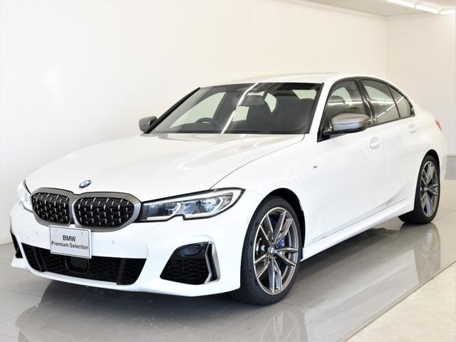 BMW M340i xDrive 黒革 パーキングサポートパーキング トップビュー オートトランク レーザーライト ハイビームアシスタント パーキングアシスト アクティブクルーズコントロール 19インチアロイホイール