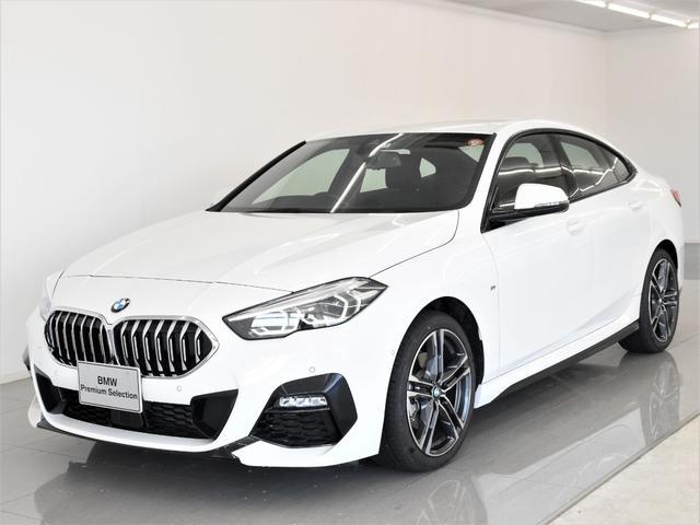 BMW 218dグランクーペ Mスポーツエディションジョイ+ ナビゲーションパッケージ アクティブクルーズコントロール ハイビームアシスタント 電動シート パーキングアシスト ドライビングアシスト 純正18インチアロイホイール 弊社デモカー