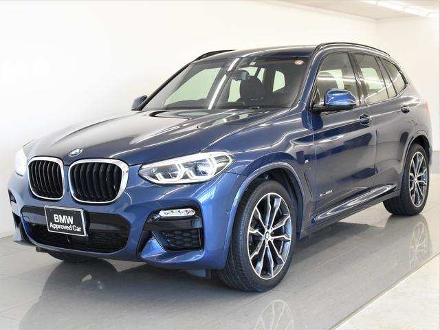 BMW X3 xDrive 20d Mスポーツ 黒革 イノベーションパッケージ ヘッドアップディスプレイ ディスプレイキー ジェスチャーコントロール アクティブクルーズコントロール トップビュー オプション20インチアロイホイール