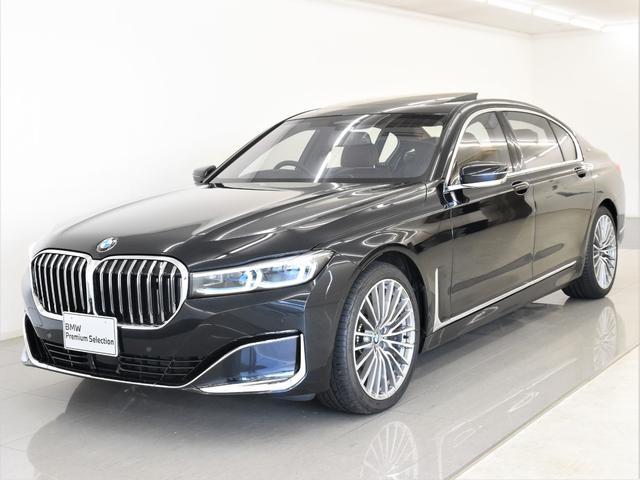 BMW 7シリーズ M760Li xDrive V12エクセレンス 後期 indeviボディーカラー indevi革 スカイラウンジパノラマガラスサンルーフ レーザーライト ディスプレイキー Bowers&Wilkins リアモニター クールボックス 20AW