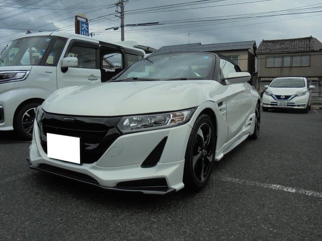 「ホンダ」「S660」「オープンカー」「鳥取県」の中古車