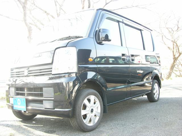 スズキ エブリイワゴン JP  ワゴンのエブリ ブラックカラー オートマ エアコン